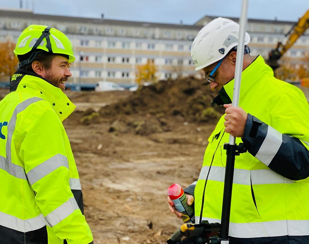 SCT, Heimstaden, DSV, nor|DC, norDC, Petri og Haugsted, Petri & Haugsted, Rødovre, byggeplads, forurenet jord, jordhåndtering, armering, betonspecialist, GPS, entreprenør, anlægsentreprenør, IBF, bundplader, fundamenter, sandfyld