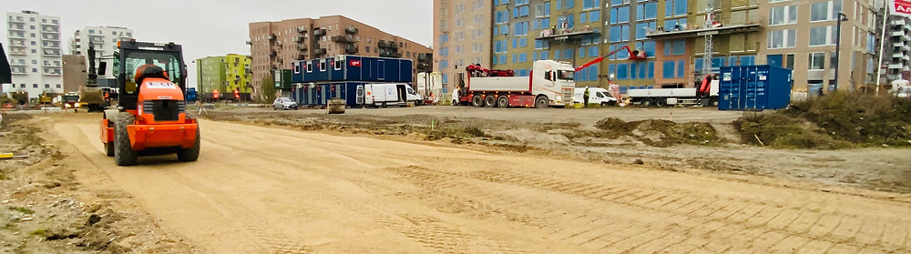 Ørestad, V8 Construction, beton, kloak, in situ beton, entreprenør, jordentreprenør, forurening, armering, bundplader, projekthåndtering
