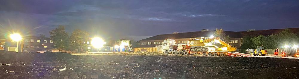 gravemaskiner, betonarbejde, norDC, nor|DC, Petri og haugsted, norbyg, nor|byg, byggeri, armering, forskalling, in situ beton, betonarbejde, forkskallingsarbejde, udgravning, bortkørsel af jord, entreprenør, byggearbejde