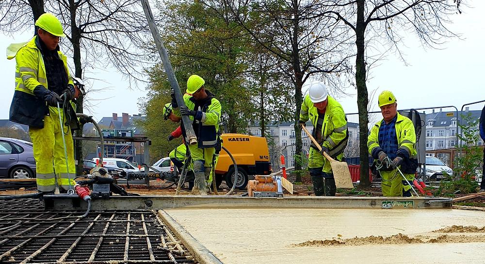 norDC, nor|byg, betonentreprenør, in situ beton, in-situ beton, beton, armering, enghaven, enghave parken, bæredygtig beton, bære dygtig beton prisen 2021