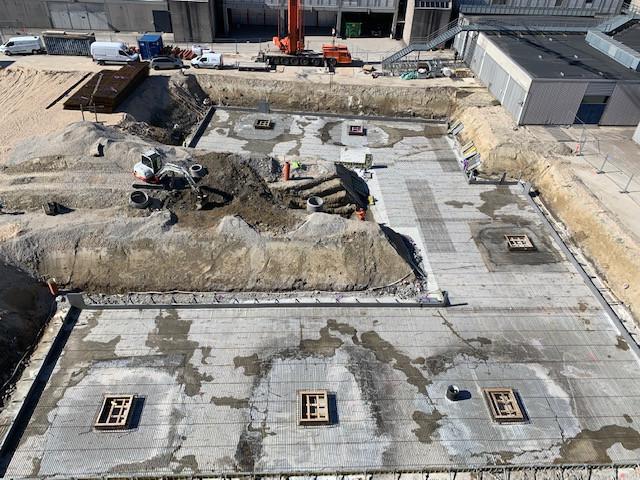norDC, nor|DC, V8 Construction, armering, in situ beton, beton, stål, pladsstøbt, covid19, record, kran