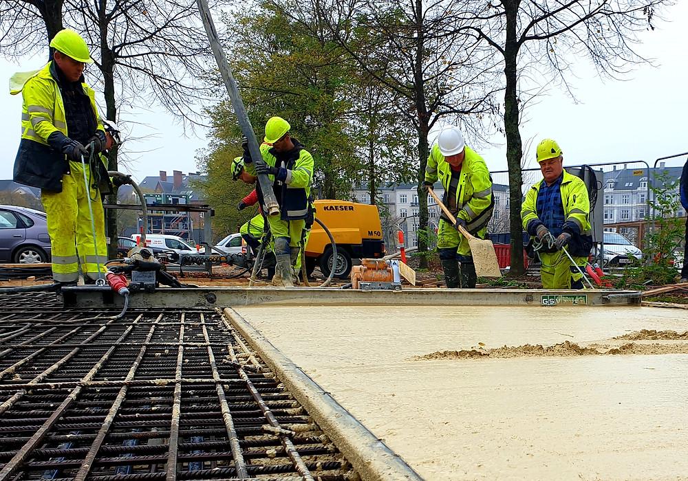 Hoffmann A/S, norDC, nor|DC, nor|byg, beton, betonpumpe, armering, håndværk