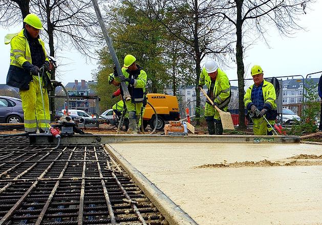 hvid beton, in situ beton, norDC, nor|DC, armering, Enghaven, Hoffmann, hoffmann og sønner, beton.