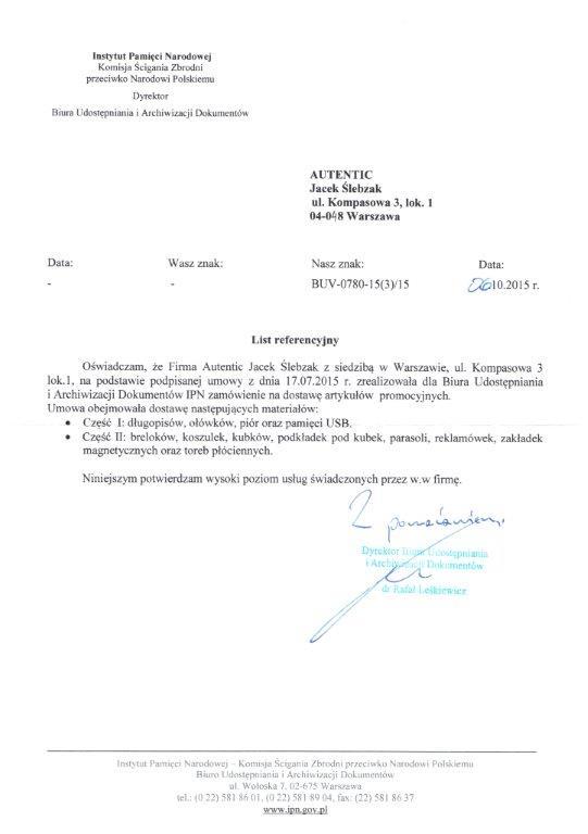 Referencje IPN