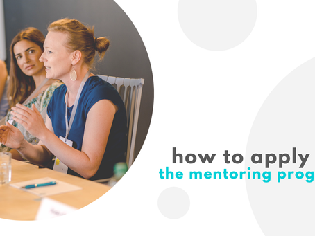 How to apply for the female factor mentoring program