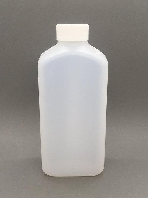 Flamingo Leergebinde 500 ml Flasche eckig mit Sicherheitsverschluss