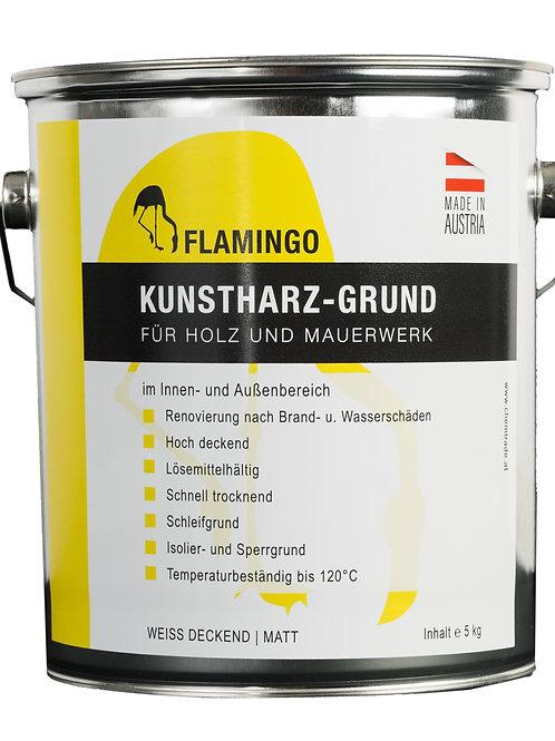Flamingo Kunstharz Grund weiß deckend Inhalt: 5kg