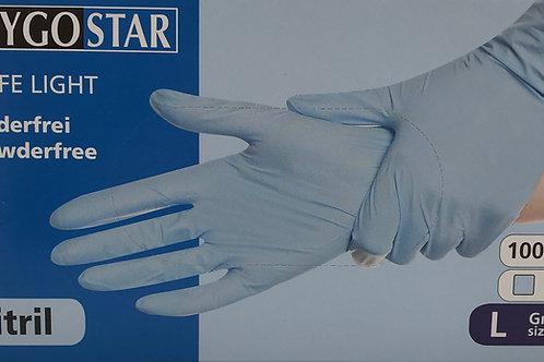 Nitril Handschuhe L, M, S puderfrei 100 Stk. EN420 EN455