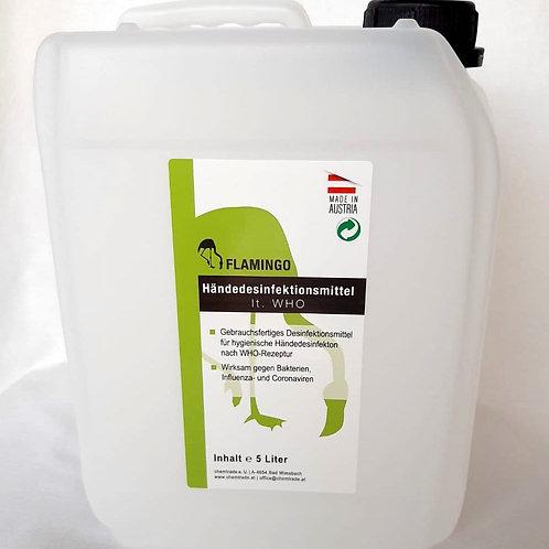 Flamingo Händedesinfektionsmittel Inhalt: 5 Liter