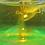 Thumbnail: Flamingo Wasserfärbung gelbgrün fluoreszierend Inhalt: 15g