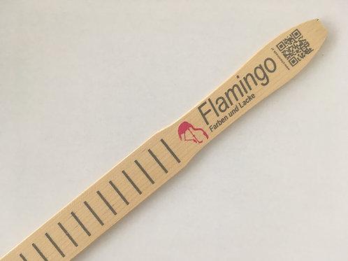 Flamingo Holz-Rührstab 30x3 cm