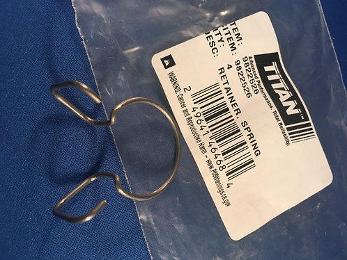 Titan 9822526 Retainer clip