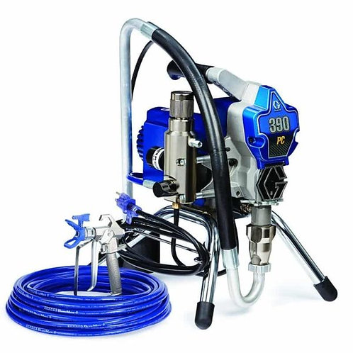 17C310- Graco 390 PC Electric Airless Paint Sprayer, Stand Model