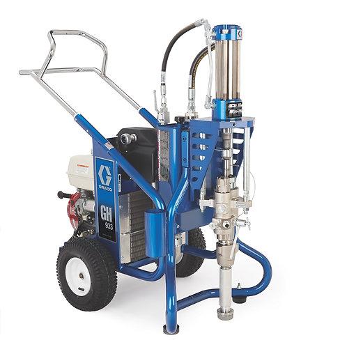 16U281- Graco GH 933 Big Rig Gas Hydraulic Sprayer, Bare