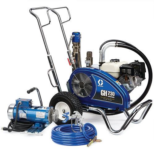 24W930- Graco GH 230 Convertible Standard Series Gas Hydraulic Airless Sprayer