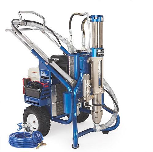 16U288- Graco GH 833ES Big Rig Gas Hydraulic Sprayer, Complete  ( + Free Parts!)
