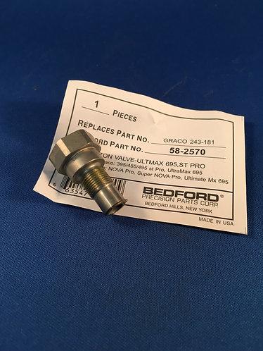 243181 Bedford Outlet valve for Ultramax 695