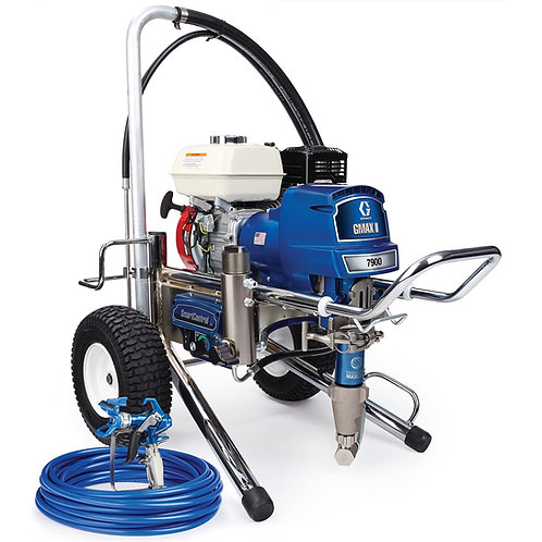 17E834- Graco GMAX II 7900 Standard Series Gas Airless Sprayer, Lo-Boy