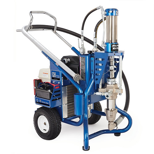 16U279- Graco Big Rig GH 733ES Gas Hydraulic Sprayer, Bare
