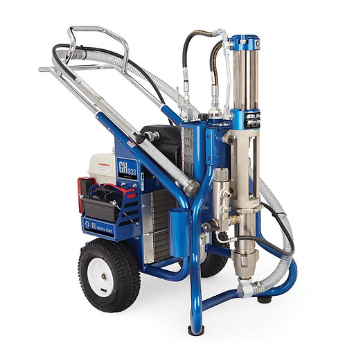 16U781- Graco GH 833ES Big Rig Gas Hydraulic Sprayer, Big 250 ( + Free Parts!)