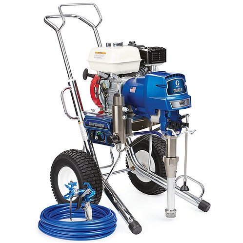17E831- Graco GMAX II 5900 Standard Series Gas Airless Sprayer, Hi-Boy