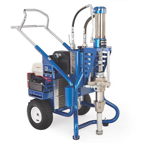 16U778- Graco Big Rig GH 733ES Gas Hydraulic Sprayer, Big 250 System