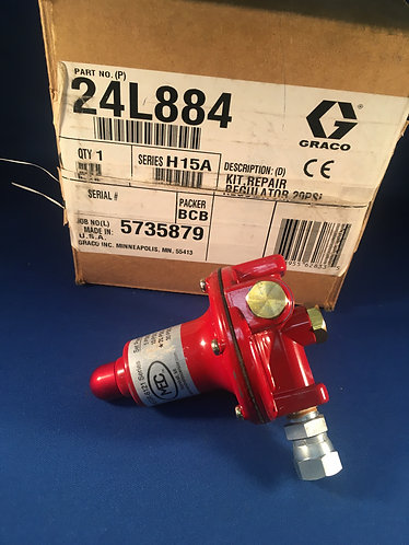 24L884 Graco 20psi gas regulator for promelt