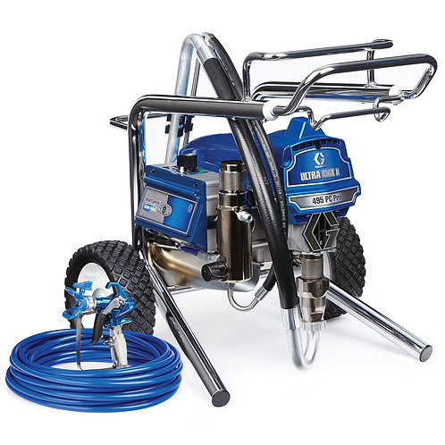 17E856- Graco Ultra Max II 495 PC Pro Electric Airless Sprayer, Lo-Boy