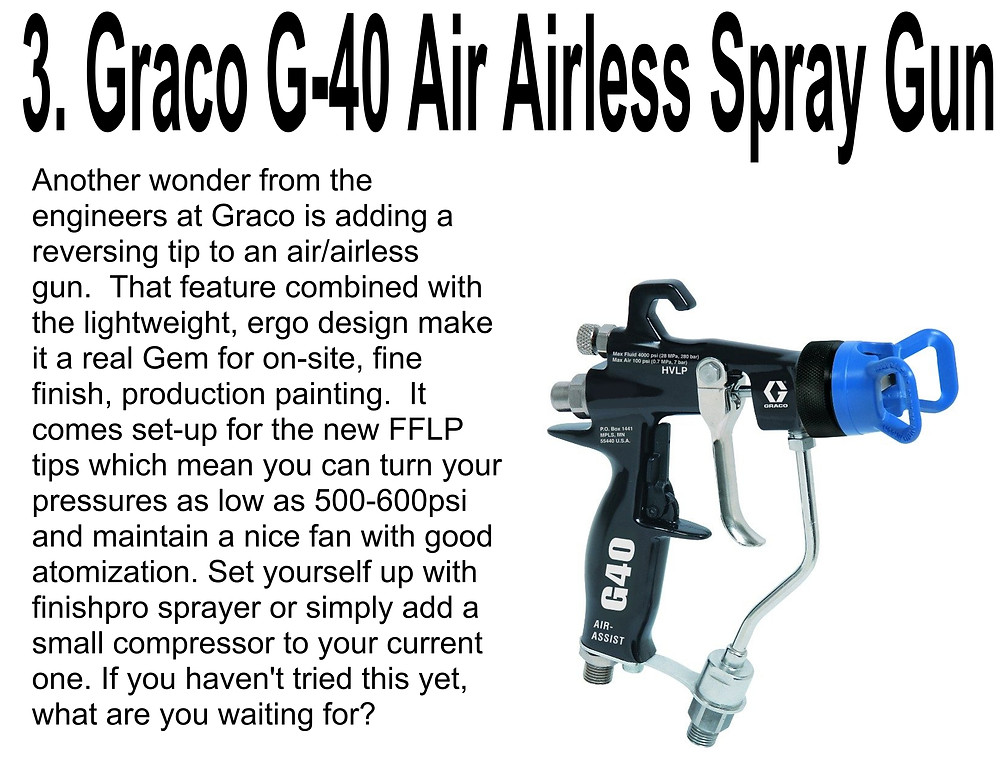 GRACO G-40 AIR AIRLESS SPRAY GUN