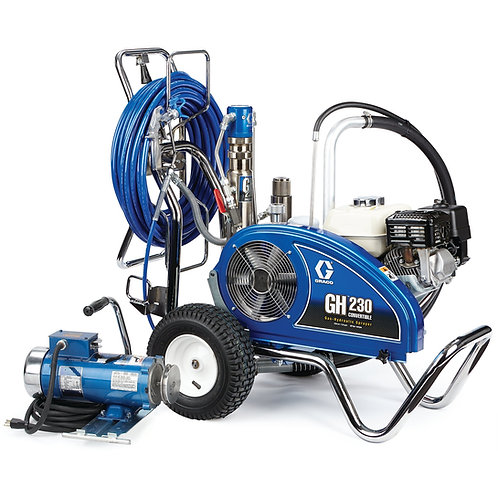 24W933- Graco GH 230 Convertible ProContractor Series Gas Hydraulic Airless