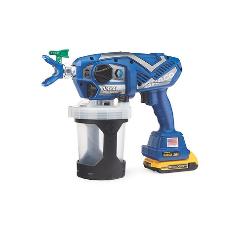 17M363- Graco Ultra Cordless Handheld Airless Sprayer