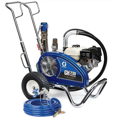 24W929- Graco GH 230 Convertible Standard Series Gas Hydraulic Airless Sprayer