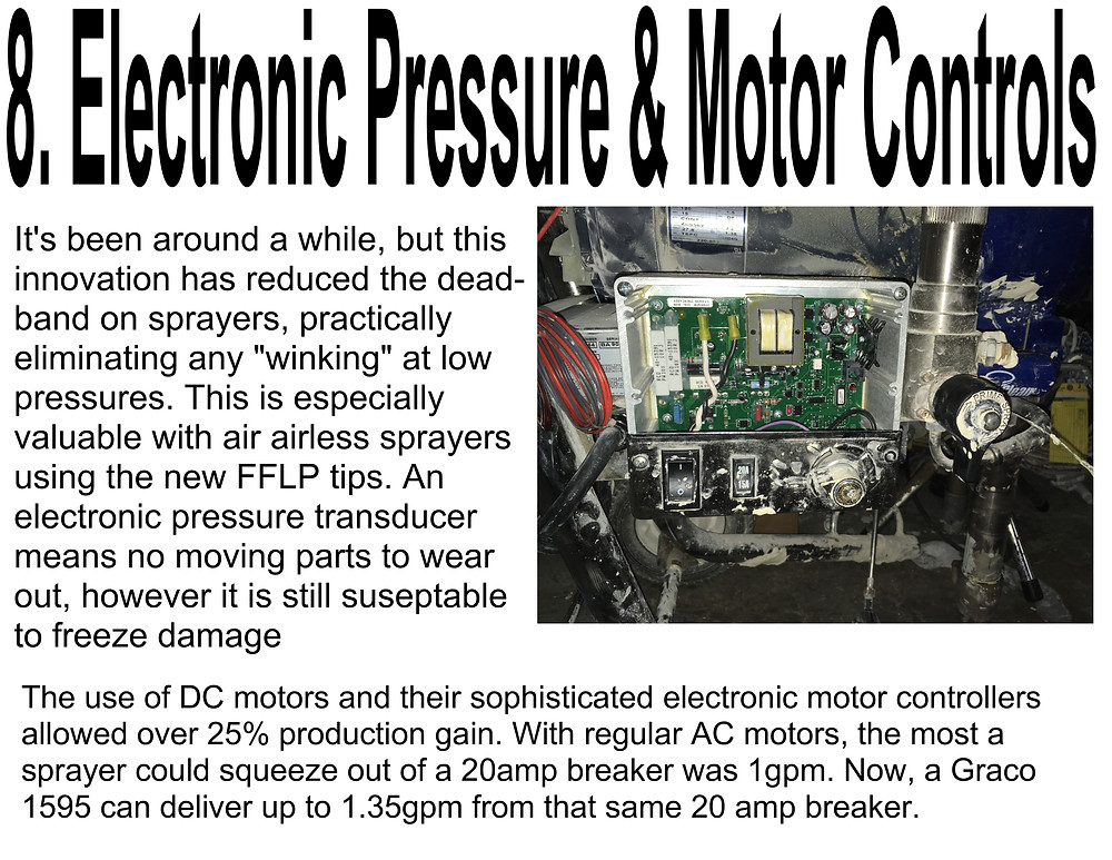 ELECTRONIC PRESSURE AND MOTOR CONTROLS