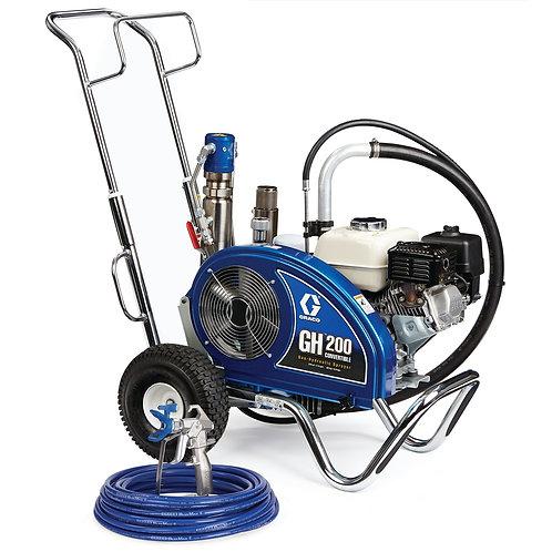 24W925- Graco GH 200 Convertible Standard Series Gas Hydraulic Airless Sprayer