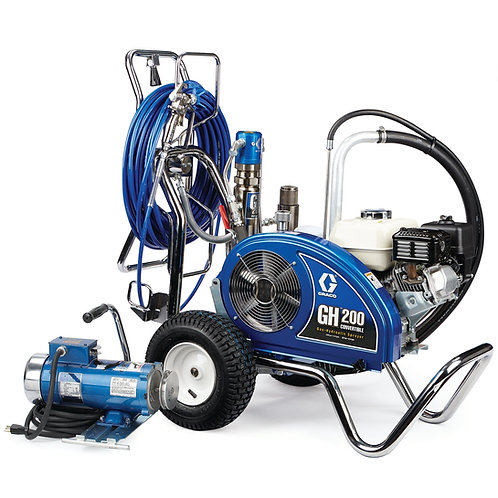 24W928- Graco GH 200 Convertible ProContractor Series Gas Hydraulic Airless