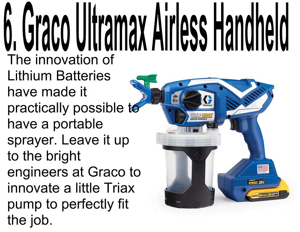 GRACO ULTRAMAX AIRLESS HANDHELD