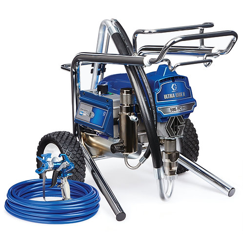 17E858- Graco Ultra Max II 595 PC Pro Electric Airless Sprayer, Lo-Boy