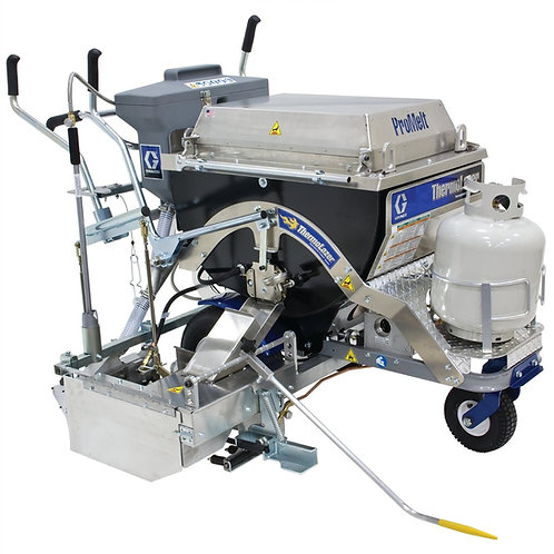 24H623 Graco ThermoLazer ProMelt Thermoplastic Striping System, 4 in SmartDie II