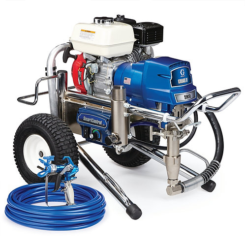 17E829- Graco GMAX II 5900 Standard Series Gas Airless Sprayer, Lo-Boy