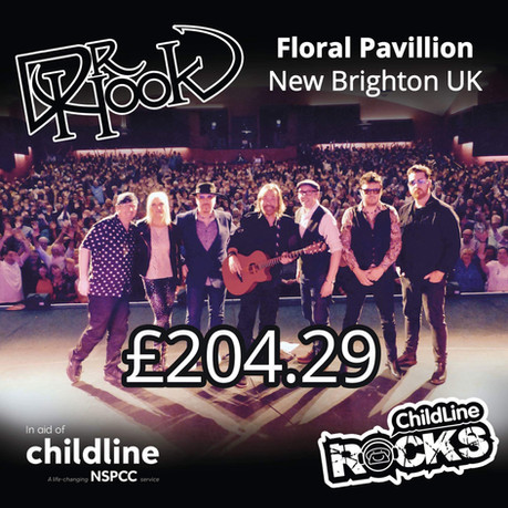 Dr Hook | Childline Fundraising | Floral Pavilion | New Brighton