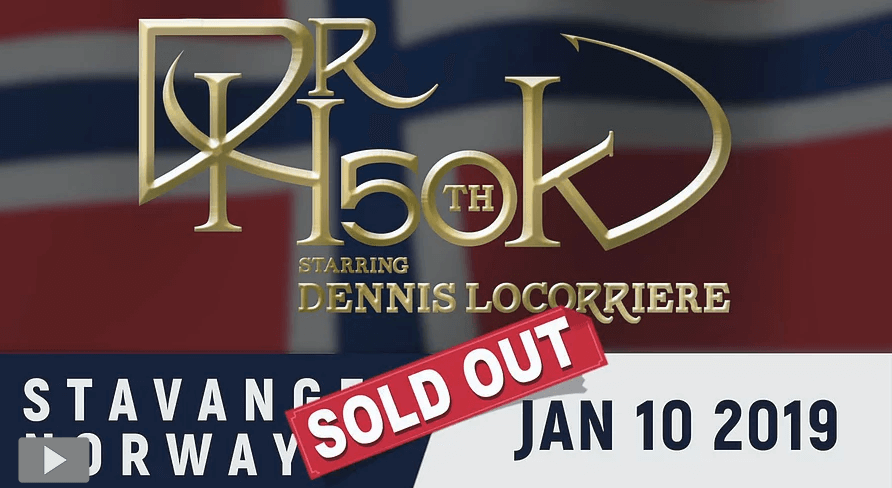 Dr Hook 50th Anniversary World Tour | Stavanger Norway 2019 - Sold Out