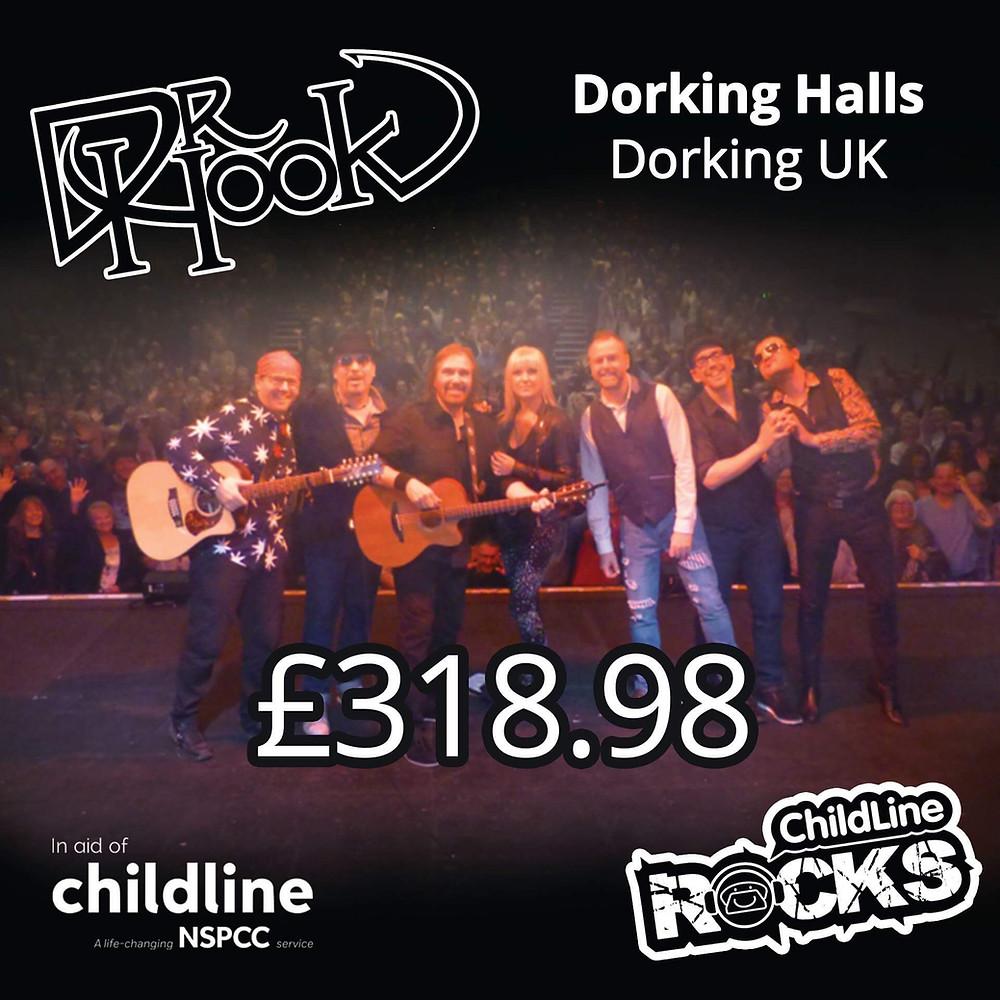 Dr Hook Starring Dennis Locorriere | 2017 Fundraising | Dorking | UK | NSPCC | Childline