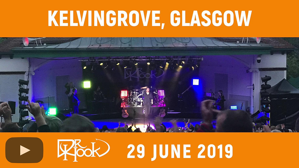 Dr Hook | Kelvingrove, Glasgow, Scotland | 2019