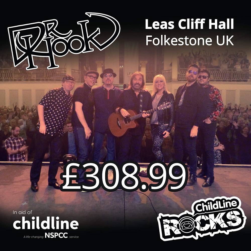 Dr Hook | Fundraising for NSPCC Childline | Folkestone | 2017