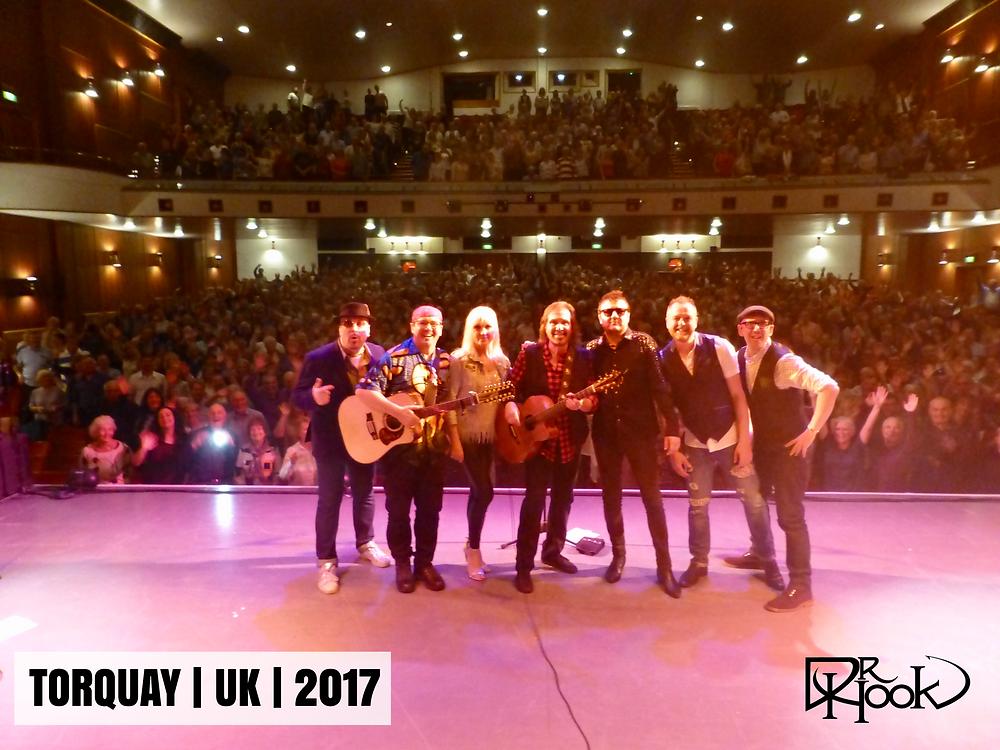 Dr Hook Starring Dennis Locorriere | Audience Selfie | Torquay, UK | 2017