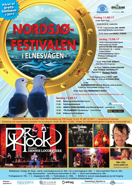 Dr Hook |Nordsjøfestivalen Norway | Tonight! 🎉