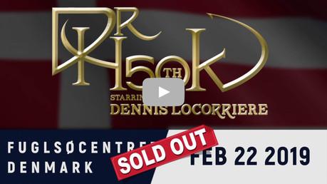 Dr Hook | Fuglsøcentret, Denmark February 2018 | Sold Out!! 🙌🏼