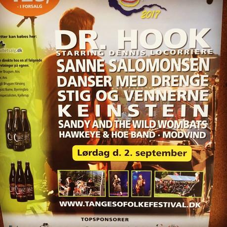 Dr Hook | Headline Tange Soe Folk Festival | Denmark 2017