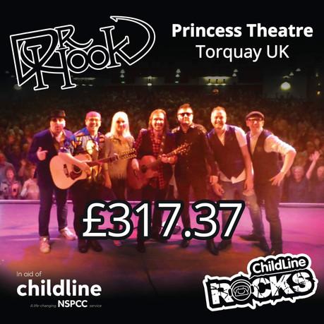 Dr Hook  Childline Fundraising   Princess Theatre   Torquay 🙌