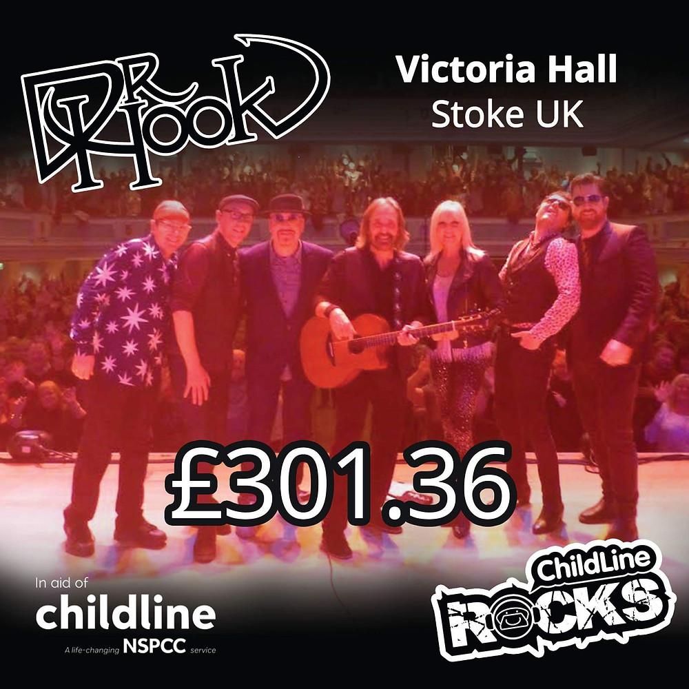 Dr Hook | Fundraising for NSPCC Childline | Stoke | 2017